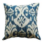 Bungalow Living Indigo Ikat Indoor Outdoor Cushion