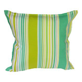 Bungalow Living Lawn Stripe Indoor Outdoor Cushion