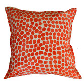 Bungalow Living Terracotta Spot Outdoor Cushion