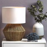 Extravagant Lighting Natural Cassie Table Lamp