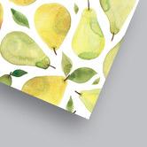 Americanflat Pears Printed Wall Art