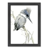 Americanflat Belted Kingfisher 2 Printed Wall Art