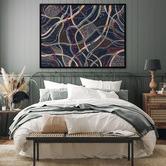 Alcove Studio Winya Bungu Canvas Wall Art