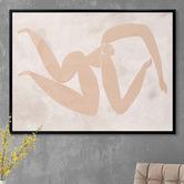 Alcove Studio Amelie Cut-Out IV Canvas Wall Art
