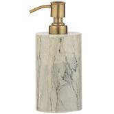 The Home Collective Moss Moncler Marble Soap Dispenser