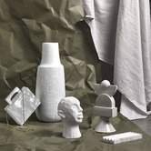 The Home Collective White Romulous Bust
