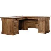 South West Living Vintage Oak Palladia L Desk