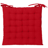 J. Elliot Solid Cotton Outdoor Chair Pad