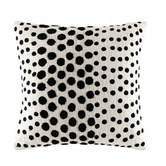 Kas Ivory Spot Cotton Cushion