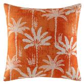 Kas Ballina Linen-Blend Cushion