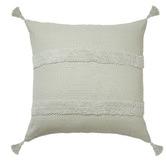Accessorize Indra Tasselled Cotton Cushion