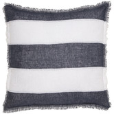 Quayside Trading Striped Linen Cushion