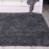 Lifestyle Floors Charcoal Alpine Shag Rug