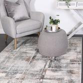 Lifestyle Floors Grey & Beige Expressions Modern Rug
