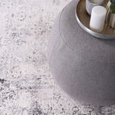 Lifestyle Floors Grey & Beige Expressions Contemporary Rug