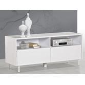 Corner Office White Gloss Talia TV Unit