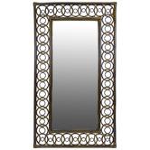 The Medford Collective Simone Bamboo Wall Mirror