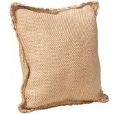 Lifestyle Traders Natural Large Jute Cushion
