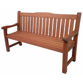 Woodlands Outdoor Furniture Siesta Outdoor Timber 3 Seater Bench
