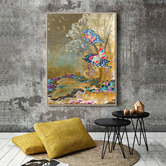 Our Artists' Collection Gold Wall Art