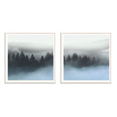 Our Artists' Collection 2 Piece Pine Mist Printed Wall Art Set