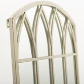 Cast Iron Outdoor Lavinia Garden Mirror