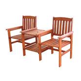 Sage Breeze Outdoor Botany Hardwood Jack & Jill Chair