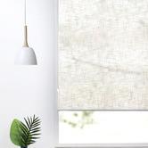Home Living Natural Faux Linen Roller Blind