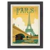 Americanflat Paris, France Print