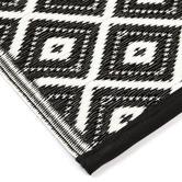 Home & Lifestyle Black Kimberley Reversible Outdoor Rug