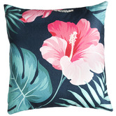 Home & Lifestyle Tropical Hibiscus Outdoor Cushion