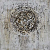 Innova Australia Distressed Spiral Oil Painted Canvas