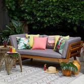Glamour Paradise Orchid Bahamas Printed Outdoor Cushion