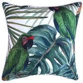 Glamour Paradise Bahamas Bird Outdoor Cushion