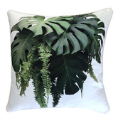 Glamour Paradise Tropical Bouquet Outdoor Cushion