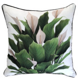 Glamour Paradise Peace Lily Outdoor Cushion