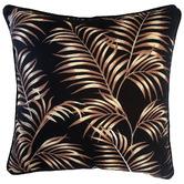 Glamour Paradise Black Bellagio Palm Outdoor Cushion