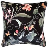 Glamour Paradise Black Sweet Pea Outdoor Cushion