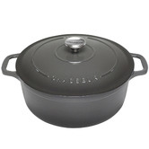 Chasseur Chasseur Caviar Round French Oven 26cm/5.2L