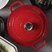 Chasseur Inferno Red Chasseur Classique 4L Cast Iron French Oven
