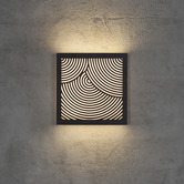 Nordlux Maze Circles Pattern Exterior Wall Light