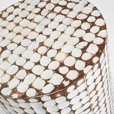 Linea Furniture Samuels Coconut Side Table