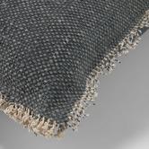 Linea Furniture Dark Grey Farrah Cotton Cushion