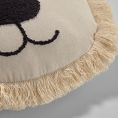 Linea Furniture Dolores Lion Organic Cotton Cushion