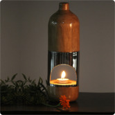 Creative Creations Natural Hand Made Teak Wood Oil Diffuser