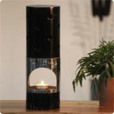 Creative Creations Dark Hand Made Mango Wood Oil Diffuser