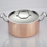 Gourmet Kitchen Lilly Aluminium & Copper Casserole