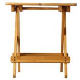 Sherwood Housewares Foldable Bamboo PIcnic Wine Table