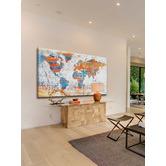 Marmont HIll Warm World Canvas Wall Art