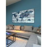 Marmont HIll Indigo Countries Canvas Wall Art